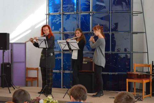 Výchovný koncert pre ZŠ SNP
