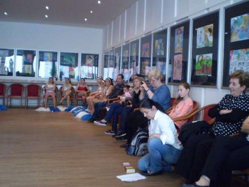 Výstava prác VO v ROS Nové Zámky